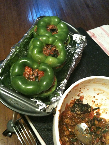 Peppers, stuffed.