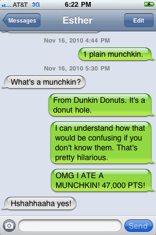 Texts From Last Munch